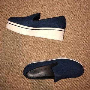 Stella McCartney Denim Slip-On Sneaker